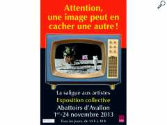 photo de Exposition Attention, une image peut en cacher une autre !