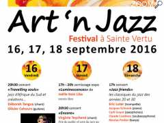 picture of FESTIVAL ART'N JAZZ à SAINTE VERTU les 16,17 et 18 septembre 2016