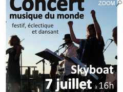 picture of Concert Skyboat musique du monde